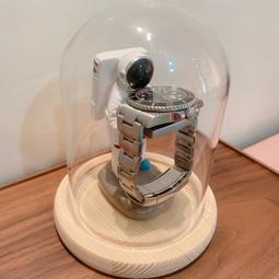 太空人+玻璃罩🔥《實拍/現貨》老管家錶座/老爺爺錶座/戒指台/手錶座/手錶架/非motif