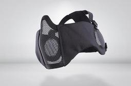 RST 紅星 - CM1面罩 武士系列 (護耳版) 護嘴 鐵網 面具 貼腮 生存遊戲 黑色 ... 05099