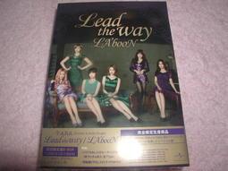 代購 完全初回生產限定盤B T-ARA 日本第9張單曲Lead the way / LA'booN BOX CD+DVD