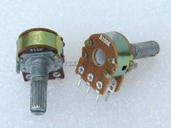 [含稅]功放機音量電位器雙聯可調電阻10K(B103)