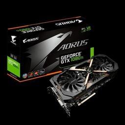 GIGABYTE 技嘉 AORUS GeForce GTX 1080 Ti 11G 電競專用顯示卡 原廠保固 現貨一張