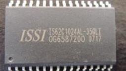 [二手拆機][含稅]IS62C1024AL IS62C1024AL-35QLI 拆機二手 實體店 熱賣