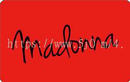 〈可來圖訂做-卡貼 應援貼紙〉瑪丹娜 Madonna 卡貼 悠遊卡貼紙