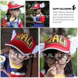 雪莉派對~兒童款丁小雨帽子 機器娃娃 阿拉蕾 尾牙表演 生日派對 變裝舞會 角色扮演 黑框眼鏡 帶翅膀帽 鴨舌帽 棒球帽