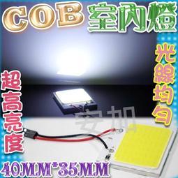 G7C77 COB室內燈 48燈 LED 40MM*35MM 成品 T10 雙尖室內燈 牌照燈 後廂燈 超薄