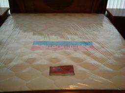 ※專業睡眠館※歐式『標準硬式』鎢鋼護背彈簧床墊~雙ISO國際品質認證(另有超硬式加強)