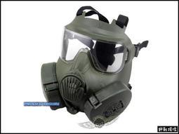 【野戰搖滾-生存遊戲】美軍 M50 防毒面具造型風扇面罩、面具【軍綠色】眼鏡族可用防彈面罩SWAT面具防霧面具風扇面具