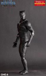 杯麵!# 現貨! 1/6 CRAZY TOYS 復仇者聯盟 無限之戰 黑豹  12吋人偶雕像 搭配HT人偶 無違和