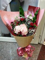 (請先詢問) NO27 母親節 玫瑰花束  玫瑰 康乃馨 母親節花束 感恩花束 限桃園地區