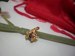 金色瓢蟲墜子