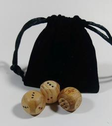 太極丸[台灣檜木手作]--易經起卦的最佳工具