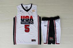 NBA2018全明星賽球衣 美國夢幻隊 David Robinson大衛·羅賓森 Curry Durant 湯普森