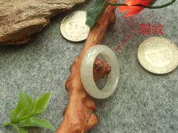 優惠價 R416(瑕疵品)玉戒指❀17# 翡翠玉A貨水潤戒指指環【緬甸玉翠軒】首飾品
