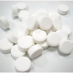 氯錠  漂白錠 1kg 4kg 次氯酸鈣 90% 除藻 殺菌 去臭- 減加壹原料館