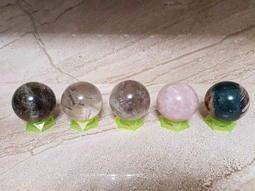 高檔100%天然五行陣水晶球 (1026公克-1164公克)
