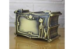 【埃及風飾品盒貓神Bestet 】金屬材質 收藏盒 珠寶盒 津星生活館