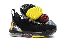 Nike LEBRON 16 LBJ16 籃球鞋 頭像 圖像 黑黃 黑 黃 JAMES 詹姆士 (NT1650含運