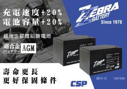 屏東潘帥電瓶ZEBRA 班馬 單顆 非廣隆 WP24-12 24AH 電動車電池 WP22-12 REC22-12 加強