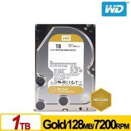 [ASU小舖] WD1005FBYZ Gold 1TB 3.5吋企業級硬碟
