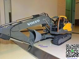 雙鷹 17通道 volvo遙控怪手 挖土機 改裝螺桿(CAT 全金屬 液壓 合金 Bruder 改三菱操控參考)