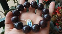 來自星星的你/新疆紅伊丁隕石原石原礦伊丁石火星天寶石圓珠手鍊手串手珠佛珠大珠子18mm/109.1g珠寶玉石寶石首飾飾品