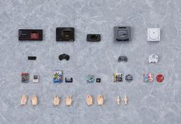 《密斯特喬》預購12月 代理版 FigmaPLUS SEGA遊戲機 配件包 (付專用手掌零件)