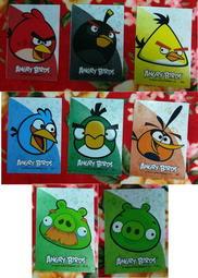 全新♡♥~Ca8-1~7-11【 憤怒鳥Angry Birds】4雙層收納資料夾/文件夾~全套8款~♥♡~255g~