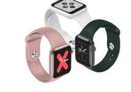 新款W58智慧手環全屏觸摸24小時常亮屏心率血壓計步運動手錶手環13157