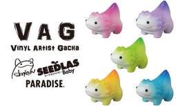3月預購 超商取付免訂 轉蛋 VAG 設計師 series 18 山椒魚寶寶 SeedlasBaby 全5種 12/16