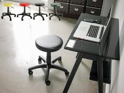 完美主義|皮革升降旋轉圓椅 升降坐椅 吧台椅 辦公椅 電腦椅 工作椅 椅子 化妝椅 餐桌椅 美容椅 會議椅【I0183】