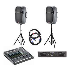 音響世界二館:JBL EON 305 15吋PA喇叭12件超值套組含擴大機/混音器/喇叭架/線材/背帶(年終限量優惠)