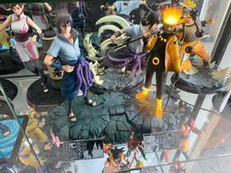 火影 crazy工作室 鳴人 佐助 殿堂級雕像