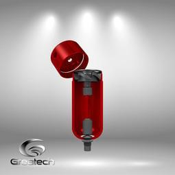 空壓工具專用 正壓 除水模組 過濾 旋風 排水器 三點組合 氣動工具 三次元 空壓機 自動排水器