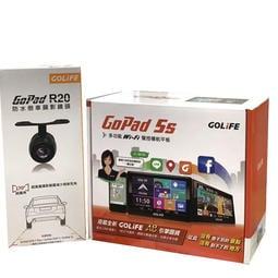 GOLiFE GoPad5S【送20倒車鏡頭】 Wi-Fi 5吋聲控 導航 平板機 GOPAD5 升級款