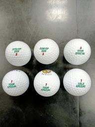 嚴選DUNLOP DDH(綠字)高爾夫球  9.5~9.9成新(多數近乎新球)  36顆