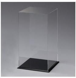 客製化尺寸-公仔盒(透+黑)C款、模型箱、展示盒、壓克力盒、模型盒
