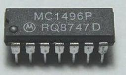[二手拆機][含稅]直插MC1496P DIP-14
