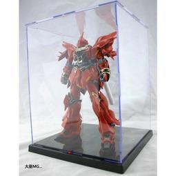 模型展示盒 MG HG RG 1/100 鋼彈 防塵公仔收藏盒 壓克力 透明箱附LED 啟越 display VT