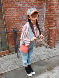 韓國設計製造手提肩背蘑菇小包