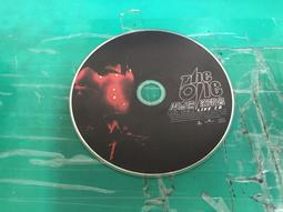 二手裸片 CD 周杰倫演唱會 THE ONE LIVE CD CD1 <Z53>