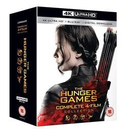 毛毛小舖--藍光BD 飢餓遊戲 1-4 4K UHD+BD八碟套裝版 The Hunger Games