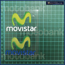 [MOTOBANK]MOVISTAR 防水 機車貼紙 車身貼 H00803