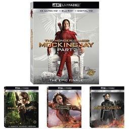 毛毛小舖--藍光BD 飢餓遊戲 1-4 4K UHD+BD限定版 The Hunger Games