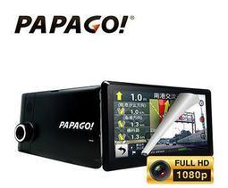 免運 保固一年 送16G PAPAGO GoPad DVR7 七吋平板 wifi 聲控+衛星導航機+行車記錄器+測速提醒