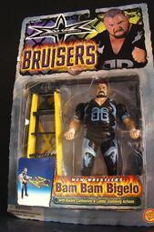 1999  美職摔角 WCW  BRUISERS  BAM BAM BIGELO 邦邦 彼格洛 比格洛 富貴玩具店