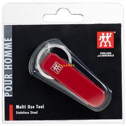 【PLAINNI現貨】 德國雙人牌 隨身實用工具組 (含萬用小刀、小剪刀、指甲剪、指甲銼刀及清潔器、鑰匙環) 壓克力套封