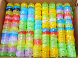 【全新現貨】扭蛋殼 扣式 轉蛋殼 無殘膠 抽獎 小顆 扭蛋 雙扣 透明 多種顏色 隨機出貨 小扭蛋 直徑4.7公分