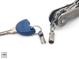 MFT 美國 TEC Accessories Python-QR 鈦合金 快速分離扣 雙環鑰匙圈⭕️免運費⭕️