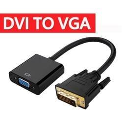 中和宜安路DVI(24+1)轉VGA轉接線DVI to VGA 接頭1080P DVI-D轉Vga