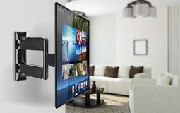 含稅【NB】P4 P4 32~47吋液晶螢幕可調式懸臂型壁掛架-單臂雙節